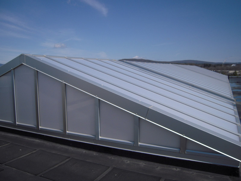 Translucent Skylight And Canopy System 3700 Skygard Extech