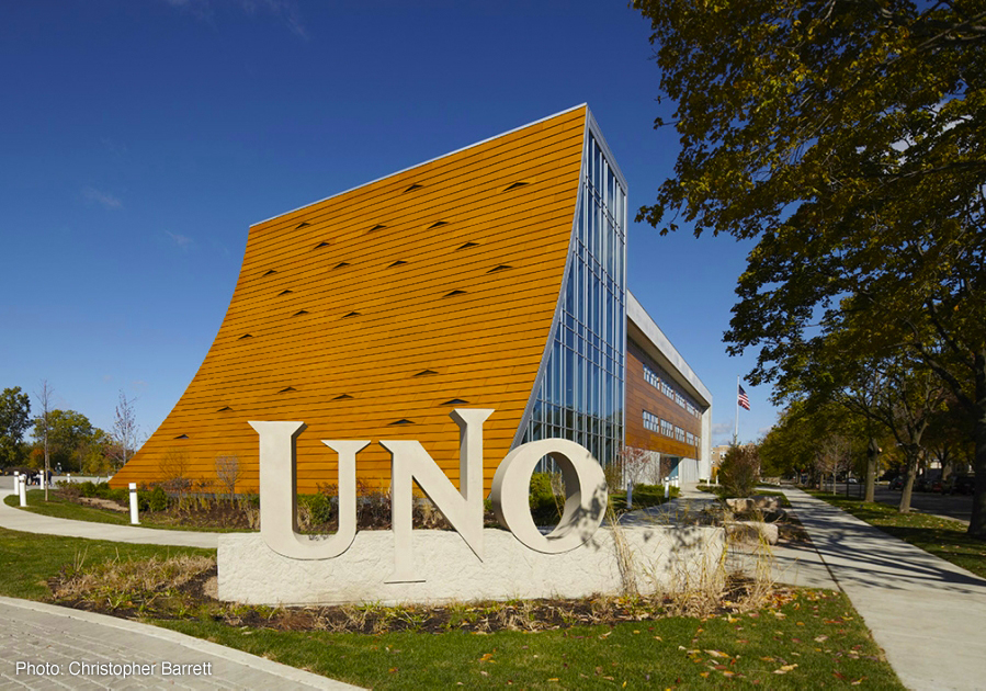 Lit from within: UNO Galewood Charter School