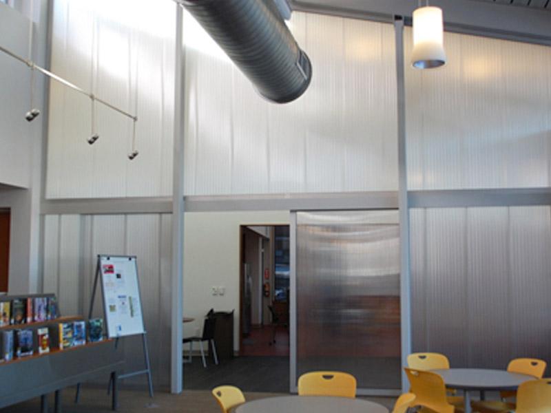 Translucent Wall Panels : Translucent interior wall panels extech