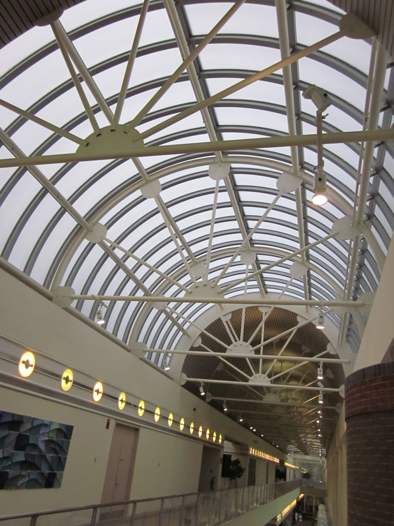Energy efficient skylights extech for Large skylight