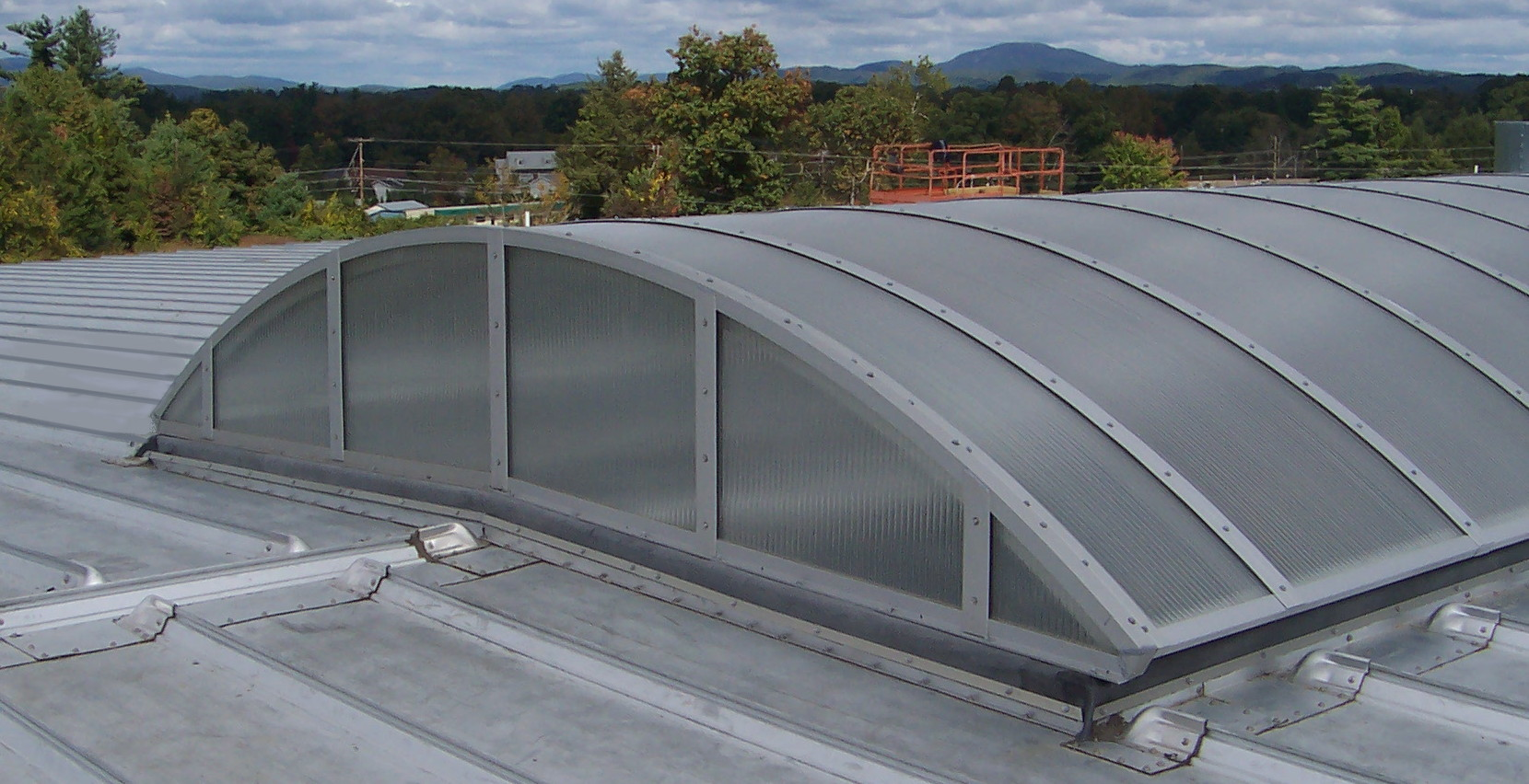 News announcements and product releases extech for Barrel vault roof