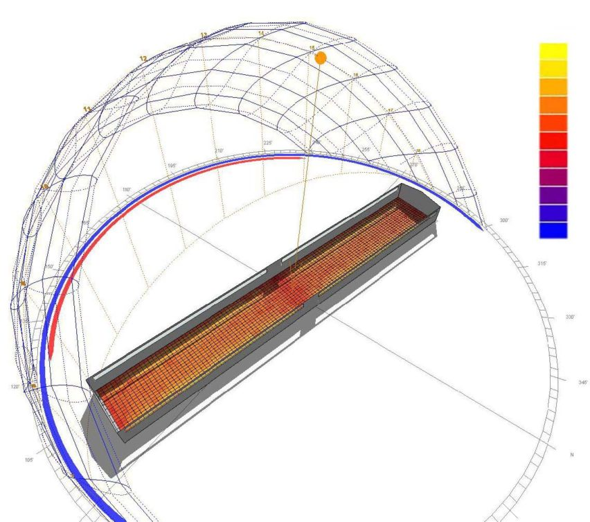 daylighting simulation by EXTECH-Exterior Technologies, Inc.