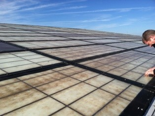 Cellular polycarbonate panels are far superior to fiberglass reinforced panels