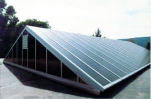polycarbonate industrial skylights