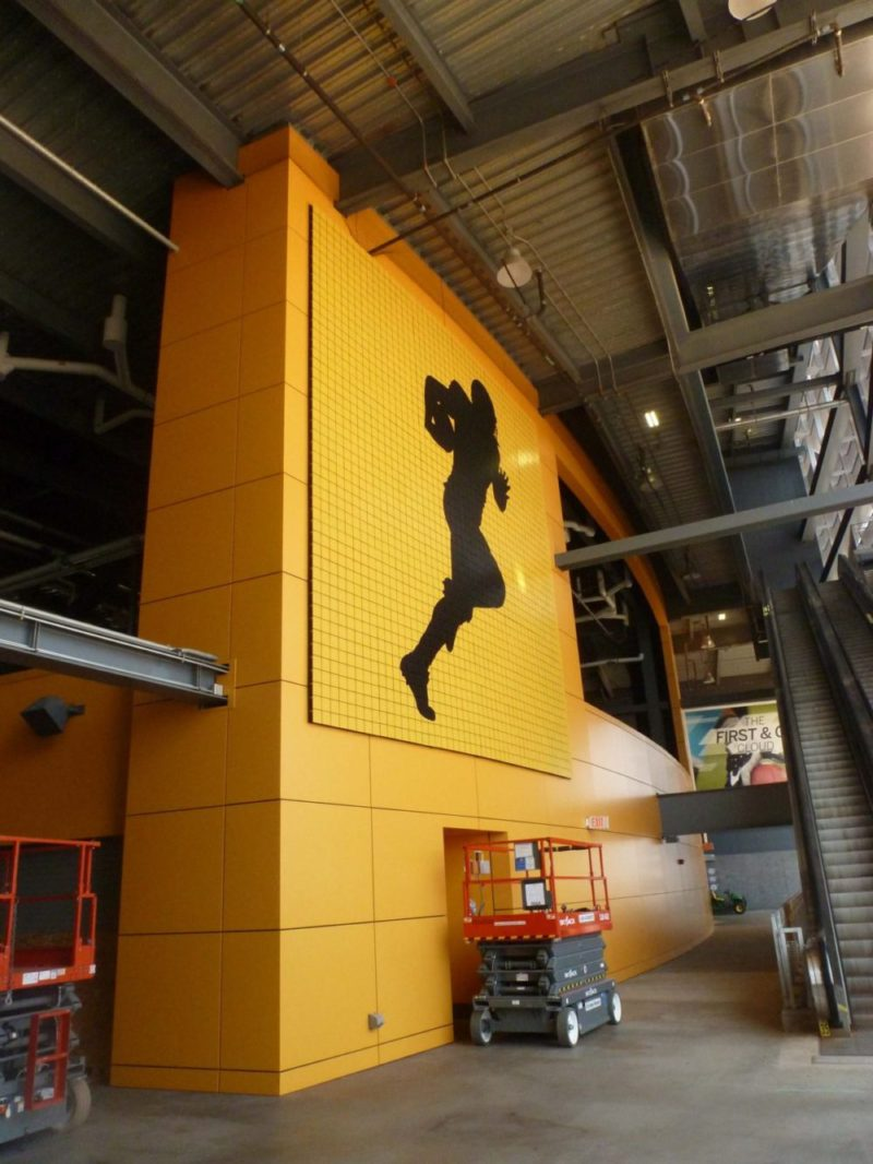 Kinetic Wall | Metlife Stadium
