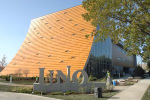 custom design Prodema panel facade for the UNO School