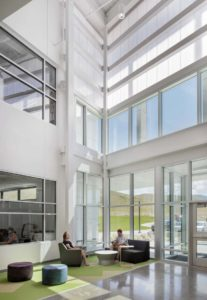 clear polycarbonate panels - EXTECH's LIGHTWALL 3440 for Pathways Innovation Center/Roosevelt High School