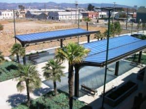 Canopy System Polycarbonate Transit Shelter