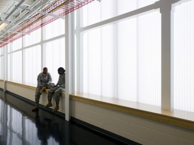 Interior Translucent Wall | EXTECH | Fort Campbell