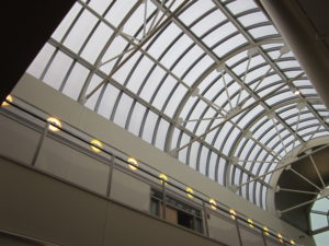 industrial skylights - EXTECH's SKYGARD 3300 for the GE/SABIC Headquarters in Pittsfield, MA