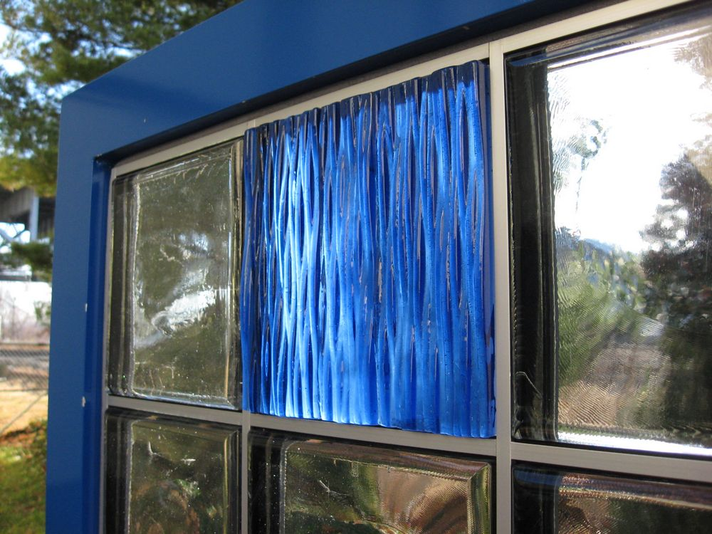 Mortarless Glass Block | GRIDLOCK | EXTECH Inc
