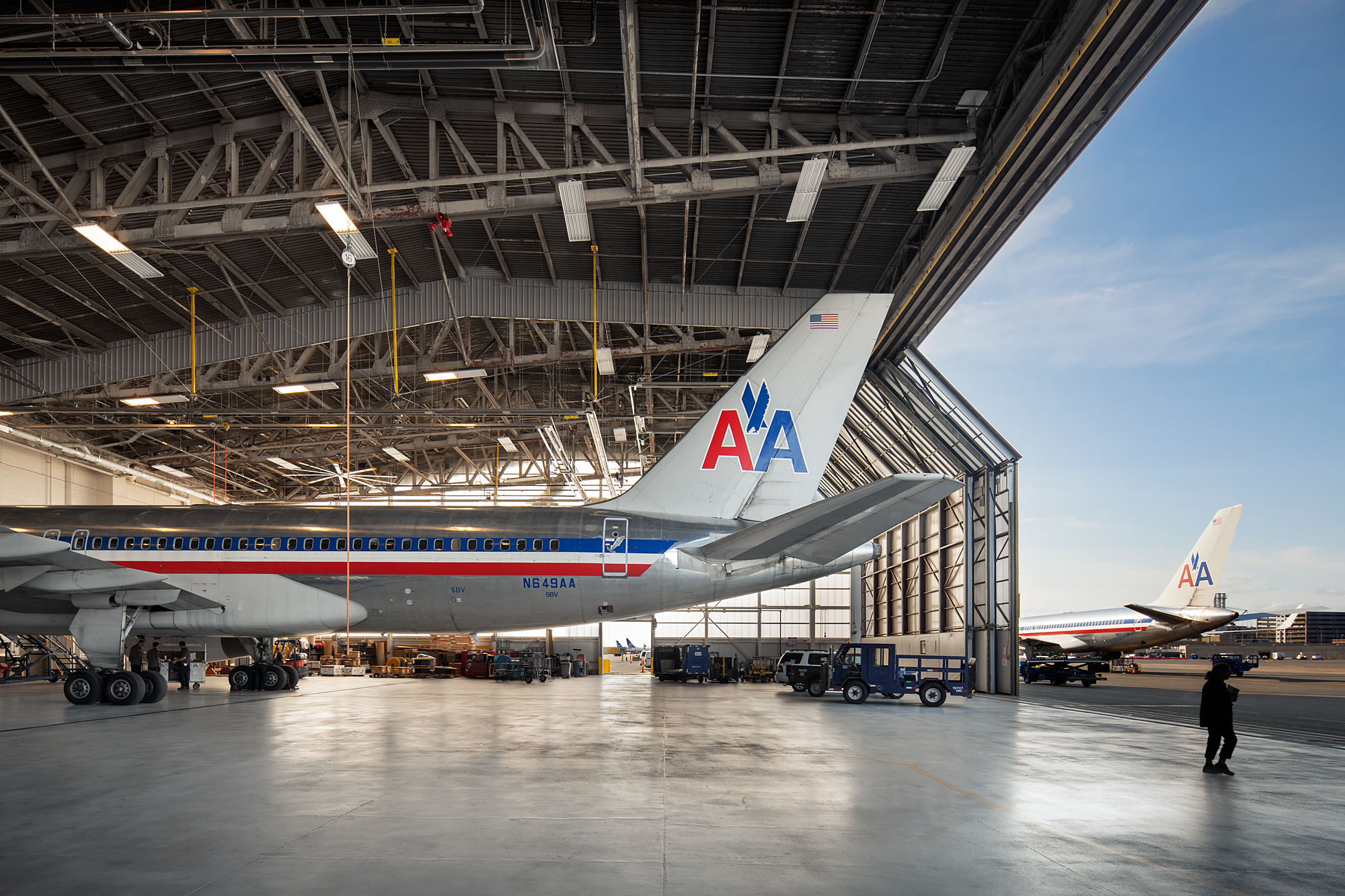 Case Study Boston Logan International Airport Hangars