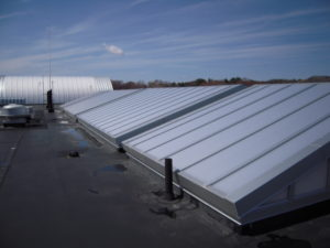 Ridge Type Industrial Skylight
