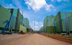 polycarbonate wall - EXTECH's LIGHTWALL 3100LS for theThyssenKrupp Steel Mill in Calvert, AL