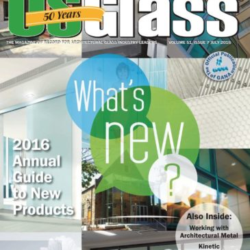 EXTECH's KINETICWALL Featured by U.S. Glass Magazine