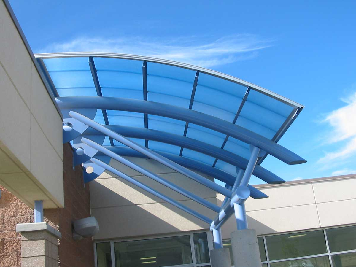 Commercial Canopies - EXTECHu0027s SKYSHADE 3100 at Copper Canyon & Commercial Canopies | SKYSHADE 3100 | EXTECH Inc.