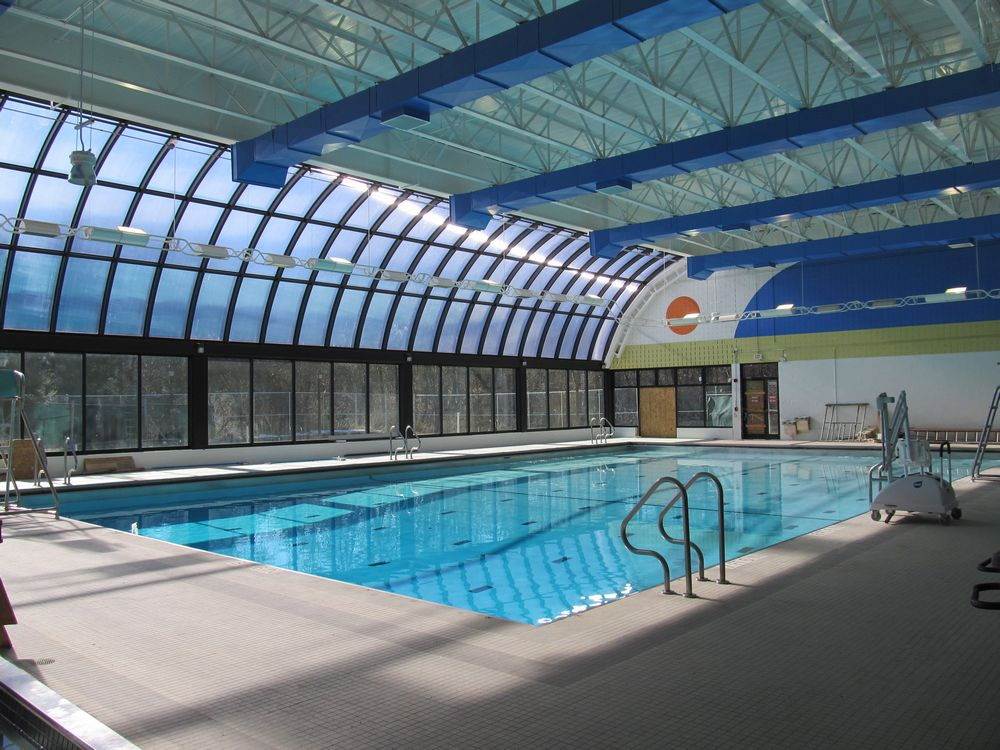 commercial skylights - EXTECH's SKYGARD 3300 at the Theresa Banks Aquatic Center