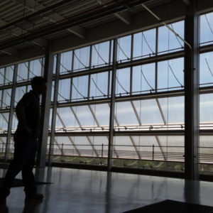 Daylighting systems - Global Tech Data Center - TechVent 3500 top-hinged industrial polycarbonate windows