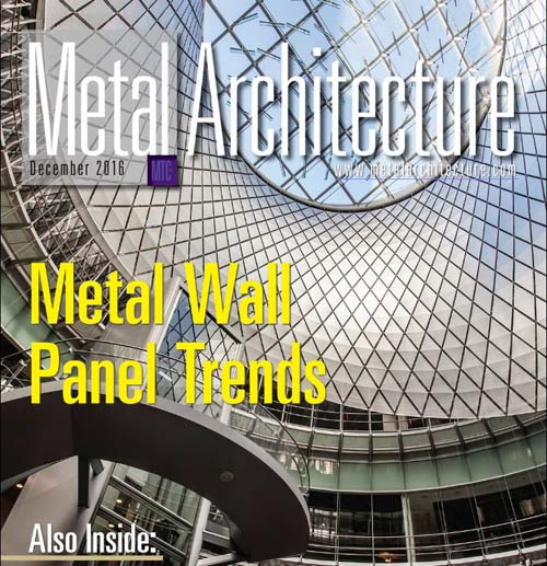 Metal Architecture KINETICWALL