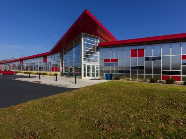 Polycarbonate Curtain Wall | Otterbein University OH
