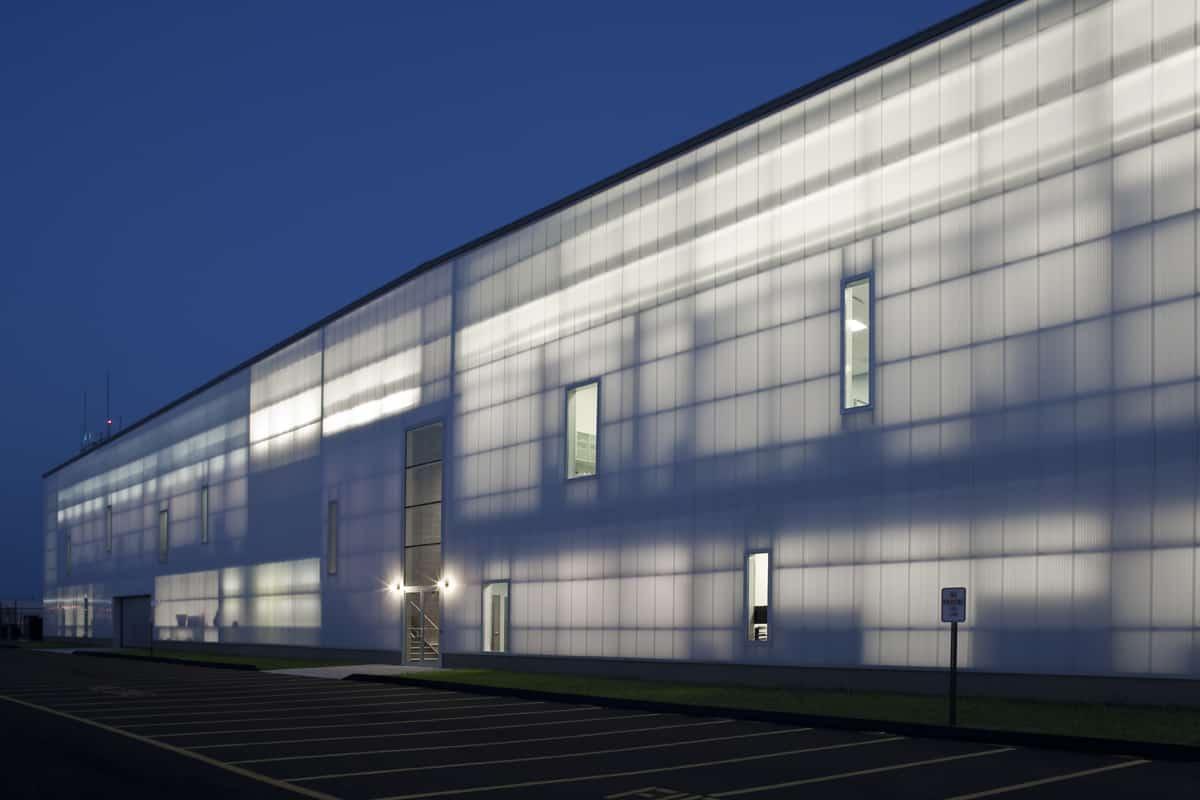 Translucent Panels Sikorsky Airport Stratford Ct