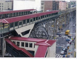 custom facades - EXTECH's Custom Steel and Aluminum Façade at NYCTA 231st Station in New York, NY