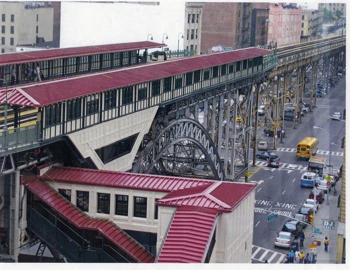 custom facades - a custom facade by EXTECH for New York City Transit in New York, NY