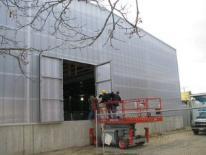 clear panels - EXTECH's LIGHTWALL 3440 at the National Marine Life Center in Buzzards Bay, MA