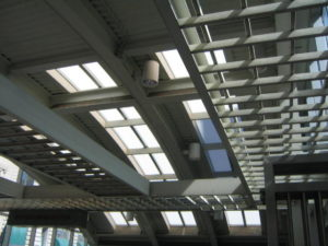 industrial skylights - EXTECH's SKYGARD 3700 at Charles Center Station in Baltimore, MD