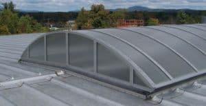 industrial skylight - EXTECH's SKYGARD at Elkamet, Inc. in East Flat Rock, NC