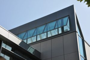 industrial windows - EXTECH's TECHVENT 5300 at the Lane Community College Health and Wellness Building in Eugene, OR