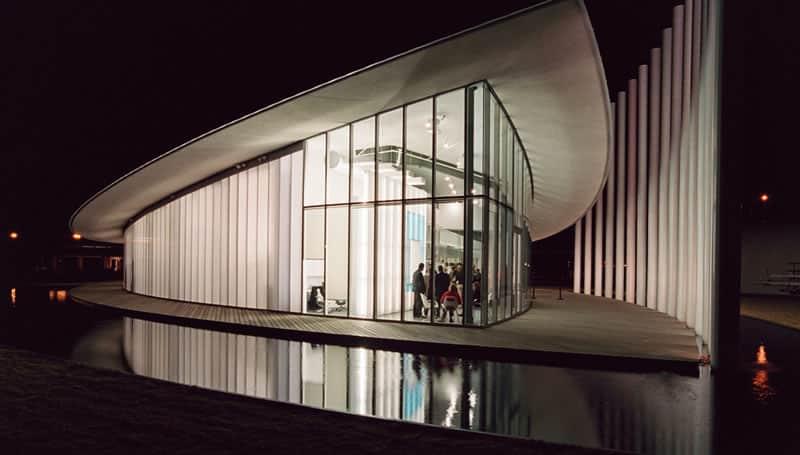 Translucent Panels Chesapeake Boathouse Oklahoma City