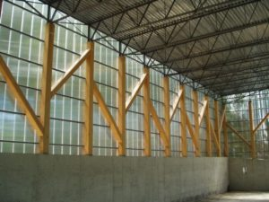 polycarbonate panels - EXTECH's LIGHTWALL at the Lessin Residence in Englewood, NJ