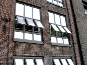 industrial polycarbonate windows - EXTECH's TECHVENT 5300 at the Domino Sugar Building in Baltimore, MD
