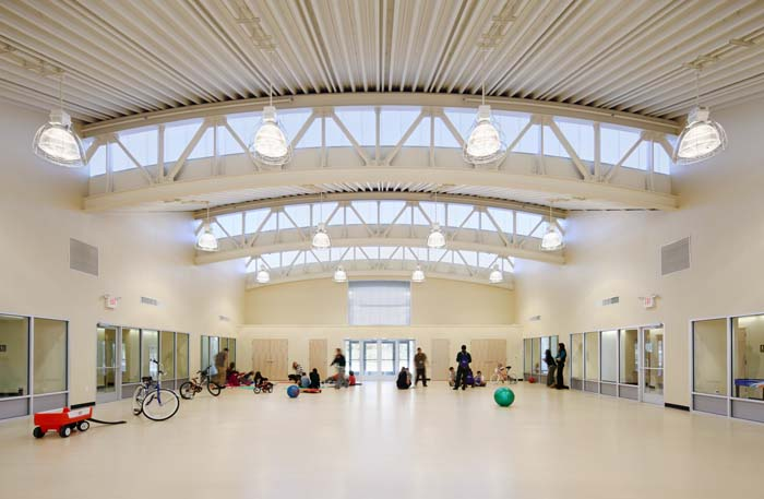 clerestory daylighting system