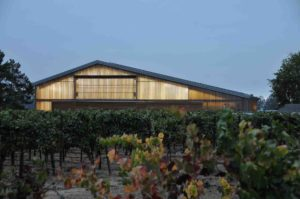 polycarbonate facade system - EXTECH's LIGHTWALL 3440 at ZD Barns in Napa, CA