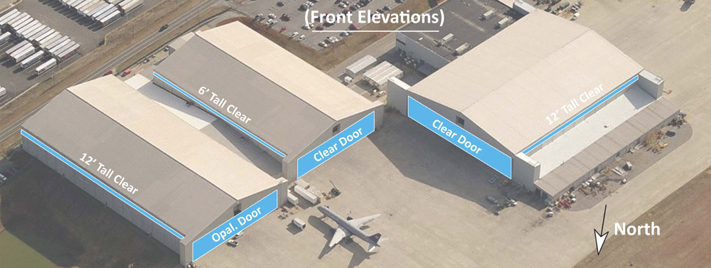 daylighting analysis for aircraft hangar