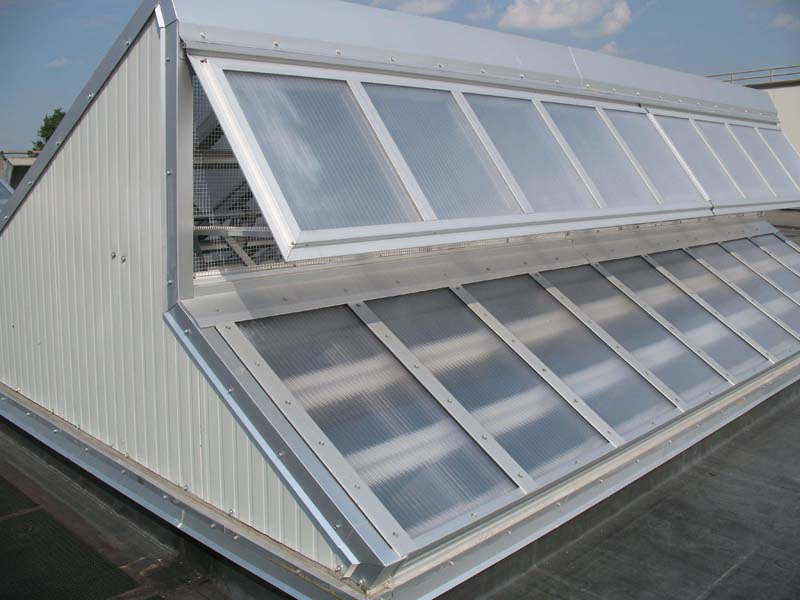 ventilating windows for transit storage - EXTECH's TECHVENT 5300