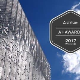 KINETICWALL wins 2017 Architizer A+ Award
