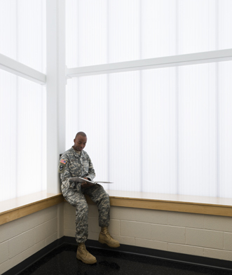 polycarbonate wall panels - EXTECH's LIGHTWALL for Fort Campbell in Fort Campbell, KY