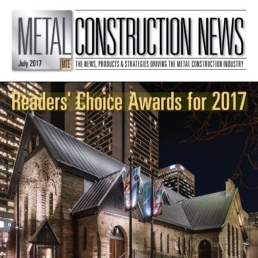 KINETICWALL receives Metal Construction News 2017 Reader's Choice Award