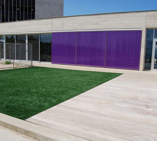 polycarbonate wall for recreation - EXTECH's LIGHTWALL for Northwestern University Sailing Center