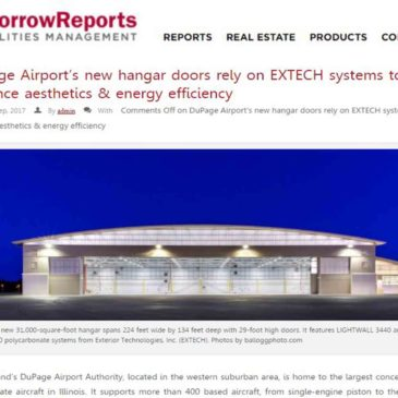 EXTECH's DuPage Airport project featured in The McMorrow Reports