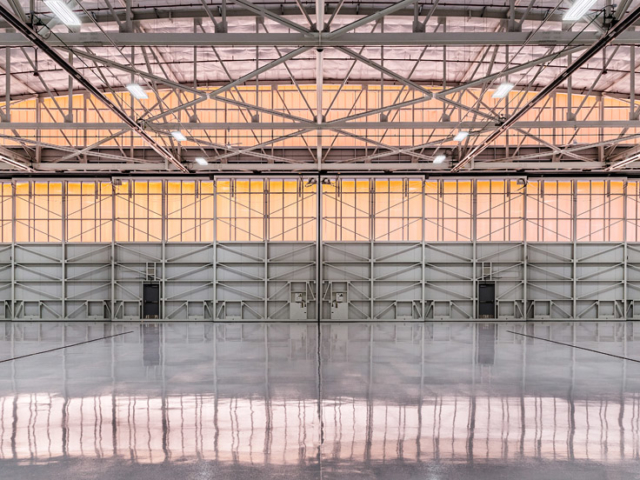 polycarbonate wall panels for aviation - EXTECH's LIGHTWALL 3440 & SKYGARD 3300 at Dupage Airport in Chicago, IL