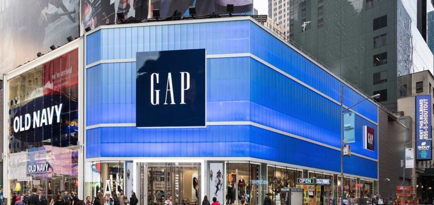 See the Photos: Gap in Times Square NYC