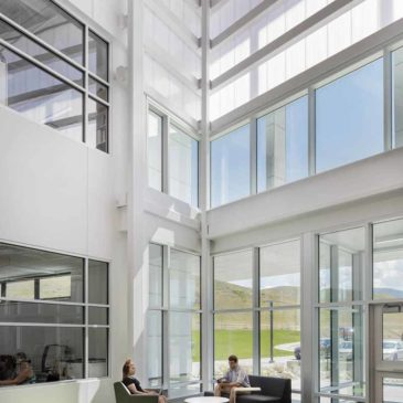 Pathways Innovation Center and EXTECH's LIGHTWALL 3440 featured by Construction Specifier Magazine