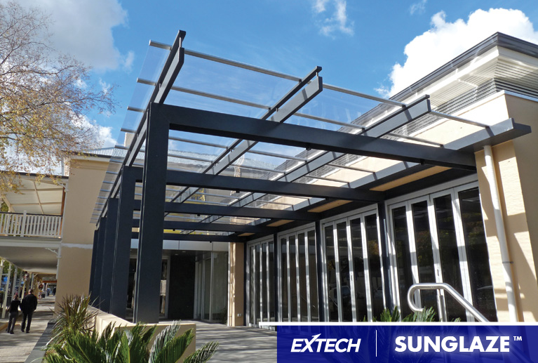 EXTECH Inc. is proud to announce that we will now be integrating Palramu0027s SUNGLAZE canopy into our product offering. The SUNGLAZE™ canopy system offers ... : canopy property solutions - memphite.com