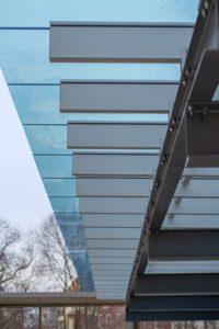 glass canopy - EXTECH SKYSHADE 2500